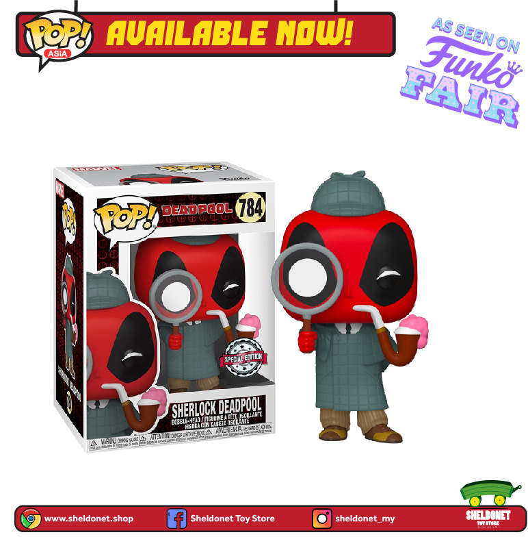 Pop! Marvel: Deadpool 30th Anniversary - Sherlock Deadpool [Exclusive]