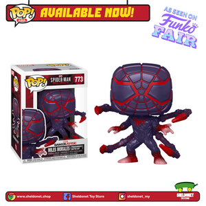Pop! Games: Miles Morales - Miles Morales in Programmable Matter Suit (Metallic) - Sheldonet Toy Store