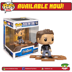 Pop! Deluxe: Marvel - Tony Stark Victory Shawarma (Exclusive) - Sheldonet Toy Store
