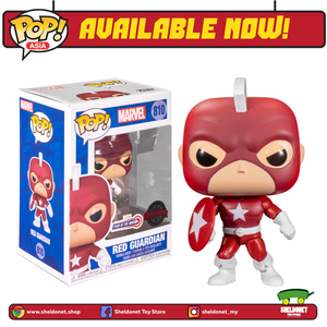 Pop! Marvel: Year Of The Shield - Red Guardian [Exclusive] - Sheldonet Toy Store