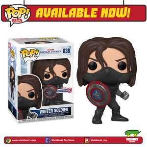 Pop! Marvel: Year Of The Shield - Winter Soldier [Exclusive] - Sheldonet Toy Store