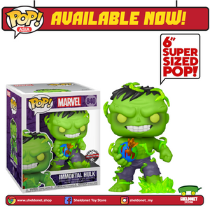 "Pop! Marvel: Marvel Comics - Immortal Hulk 6"" Inch [Exclusive] - Sheldonet Toy Store"