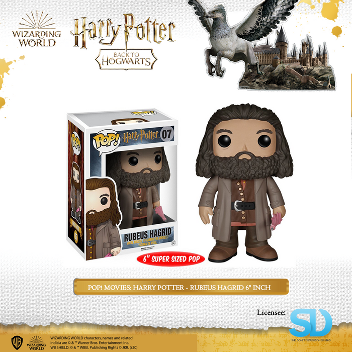 "POP! Movies: Harry Potter - Rubeus Hagrid 6"" Inch"