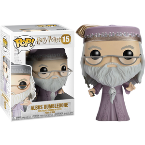 POP! Movies: Harry Potter - Albus Dumbledore With Wand - Sheldonet Toy Store