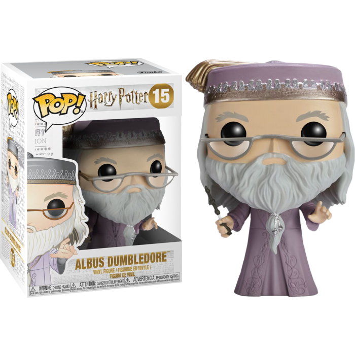 POP! Movies: Harry Potter - Albus Dumbledore With Wand