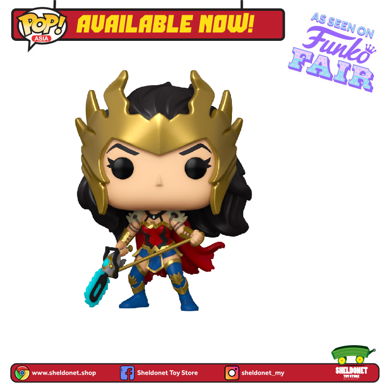 Pop! Heroes: DC Comics - Death Metal Wonder Woman [Exclusive] - Sheldonet Toy Store