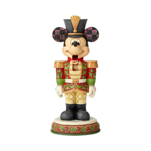 Enesco : Disney Traditions - Mickey Mouse Nutcracker, Stalwart Soldier - Sheldonet Toy Store