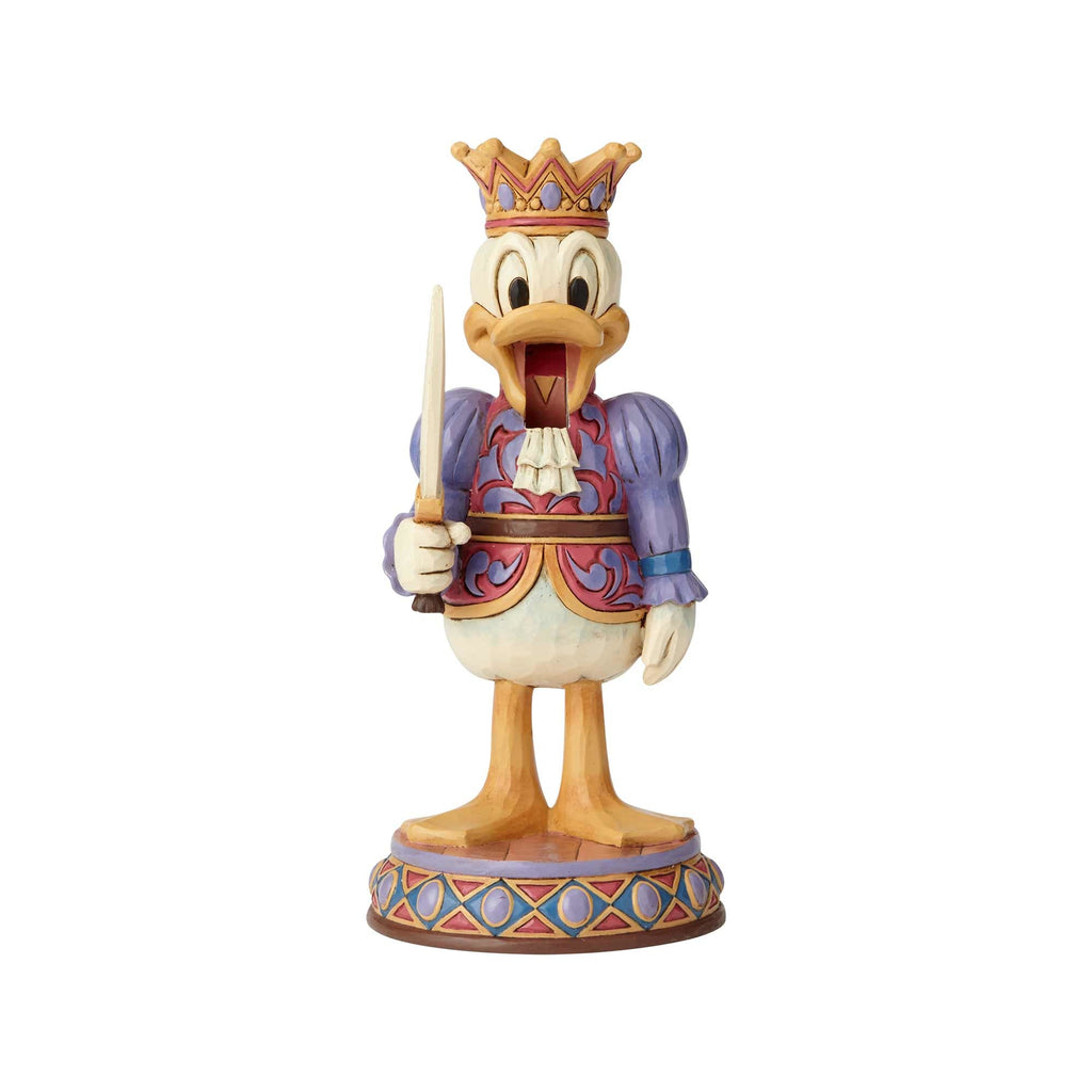 Enesco : Disney Traditions - Donald Nutcracker, Reigning Royal - Sheldonet Toy Store