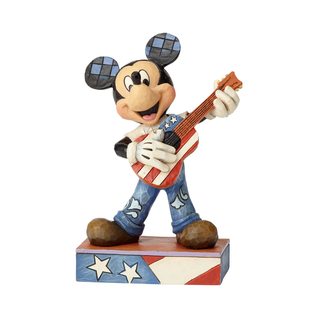 Enesco : Disney Traditions - American Anthem Mickey - Sheldonet Toy Store