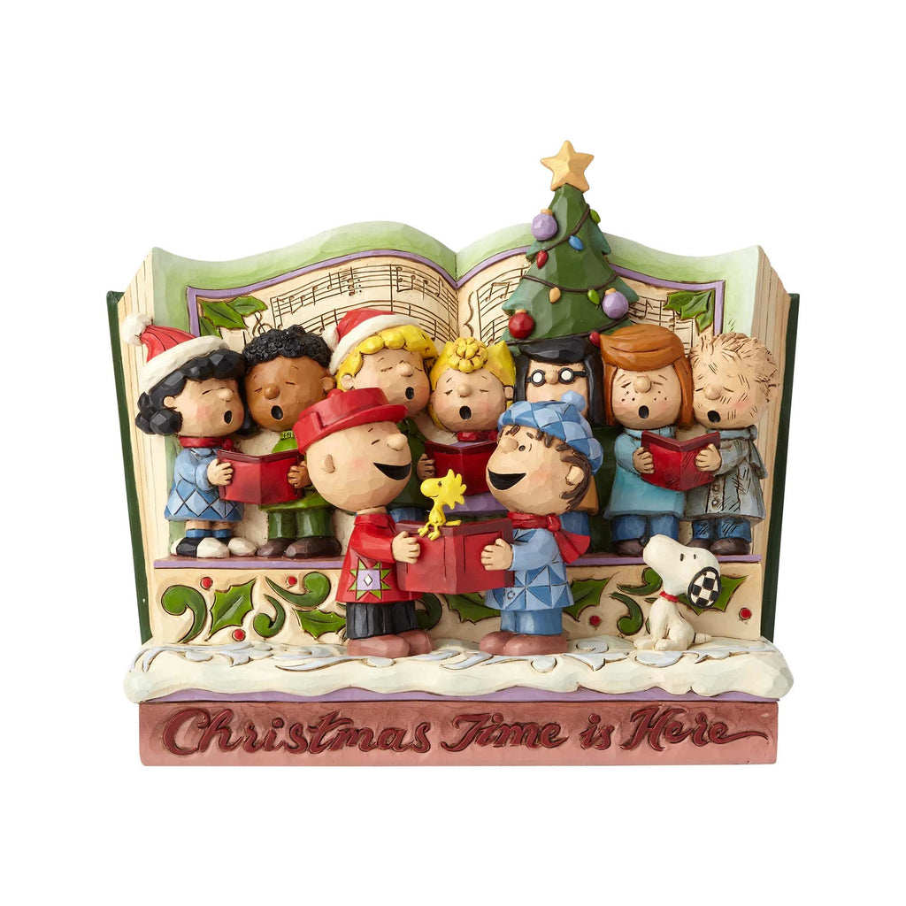Enesco : Peanuts by Jim Shore - Peanuts Christmas Storybook - Sheldonet Toy Store