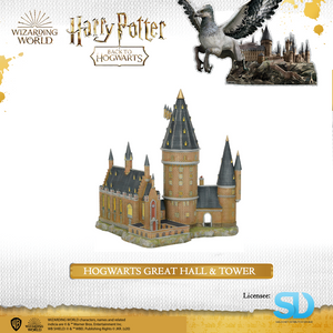 Enesco : Wizarding World - Hogwarts Great Hall & Tower - Sheldonet Toy Store