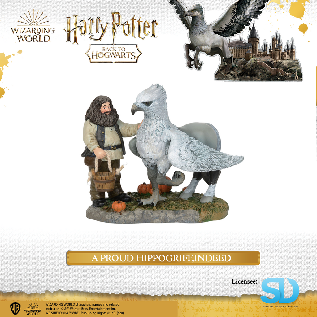 Enesco : Wizarding World - A Proud Hippogriff,Indeed - Sheldonet Toy Store