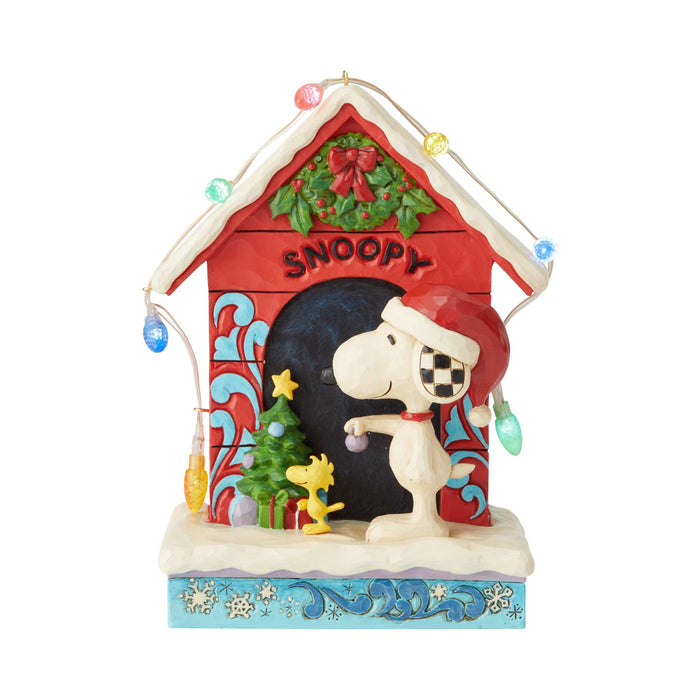 Enesco : Peanuts by Jim Shore - Snoopy By Dog House