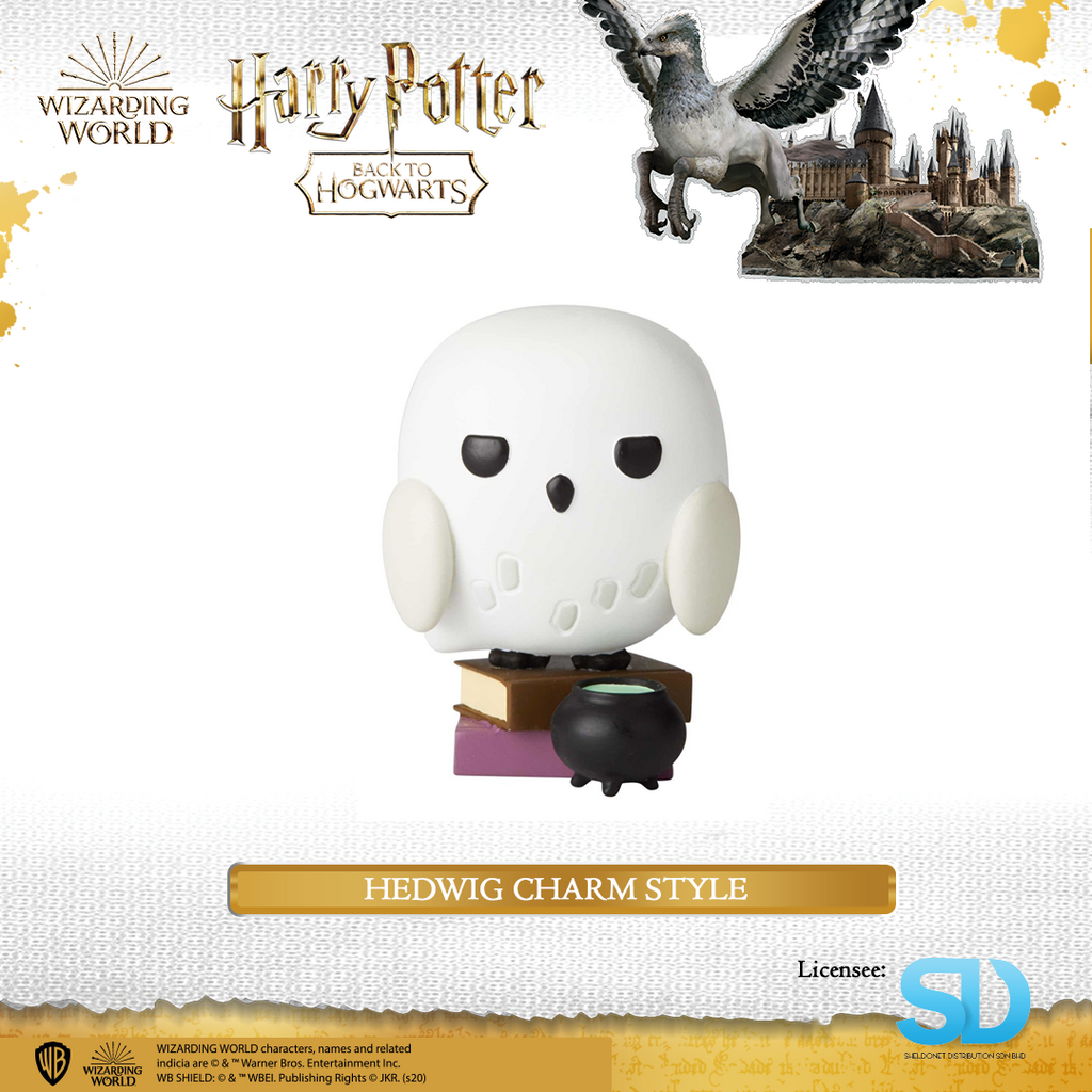 Enesco : Wizarding World of Harry Potter - Hedwig Charm Style - Sheldonet Toy Store