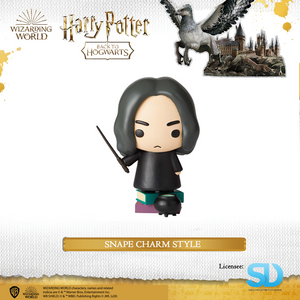 Enesco : Wizarding World of Harry Potter - Snape Charm Style - Sheldonet Toy Store