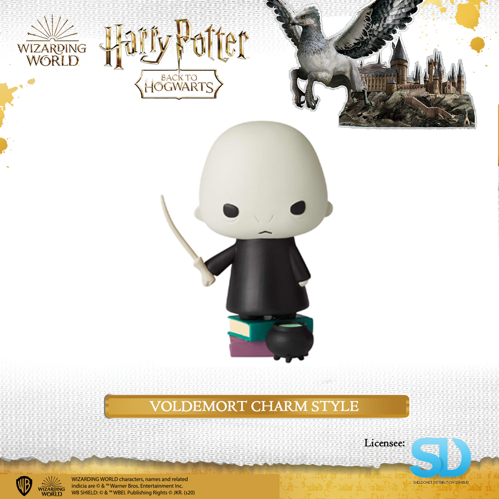 Enesco : Wizarding World of Harry Potter - Voldemort Charm Style - Sheldonet Toy Store