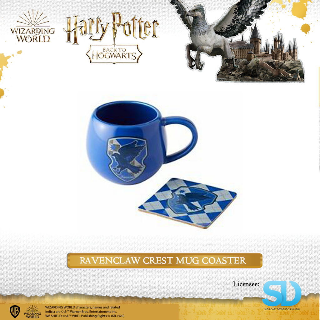 Enesco: Wizarding World - Raven Claw Crest Mug Coaster - Sheldonet Toy Store