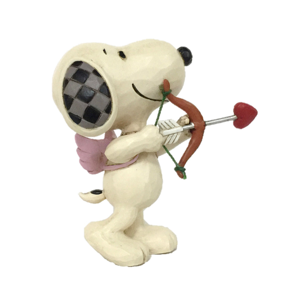 Enesco : Peanuts by Jim Shore - Snoopy Mini Love - Sheldonet Toy Store