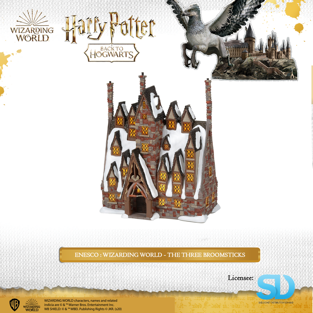 Enesco : Wizarding World - The Three Broomsticks - Sheldonet Toy Store