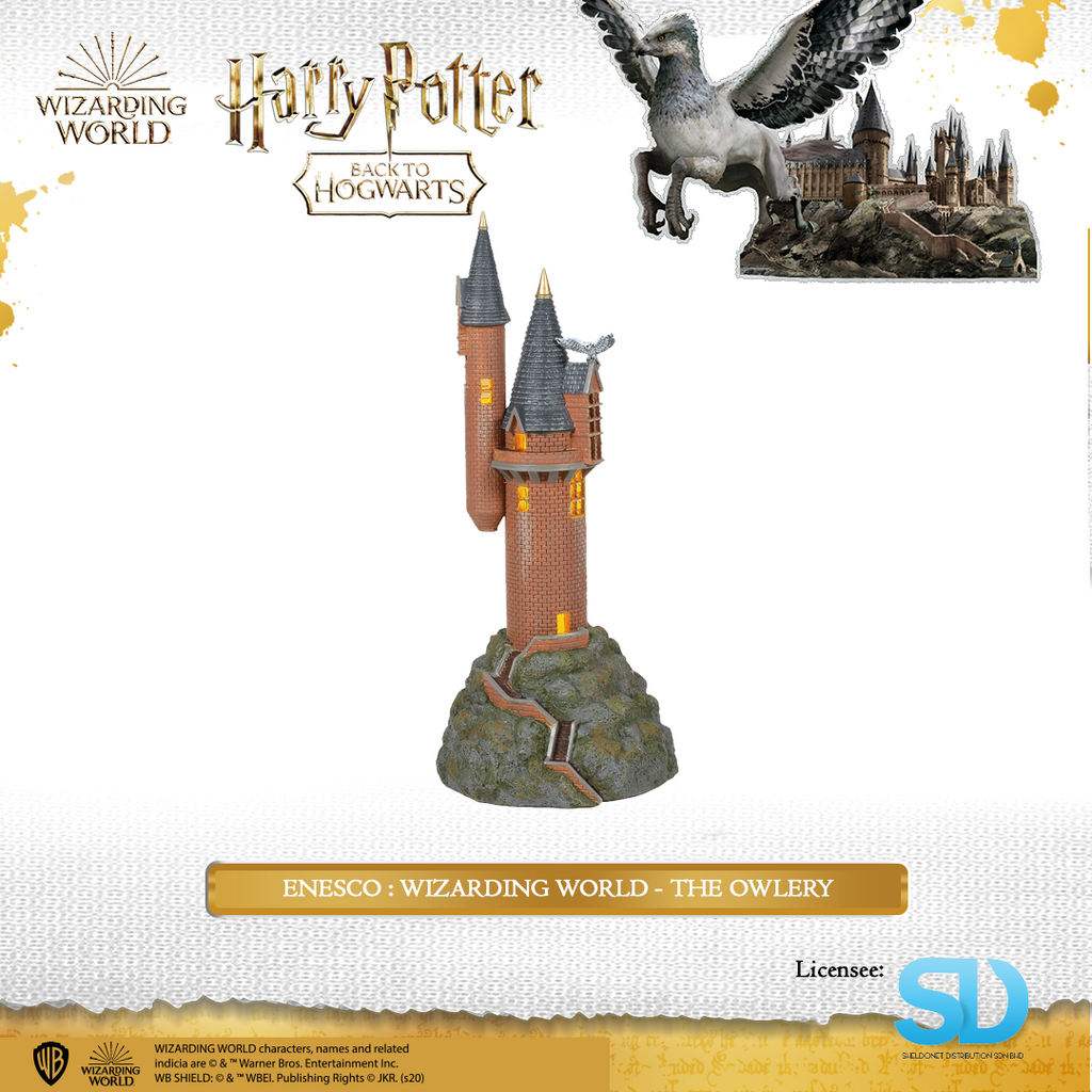 Enesco : Wizarding World - The Owlery - Sheldonet Toy Store