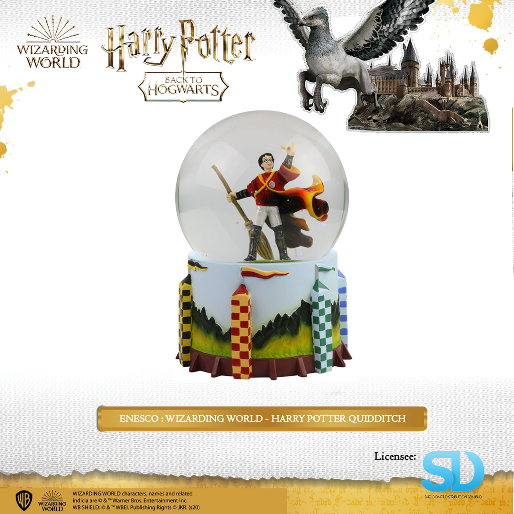 Enesco : Wizarding World - Harry Potter Quidditch - Sheldonet Toy Store