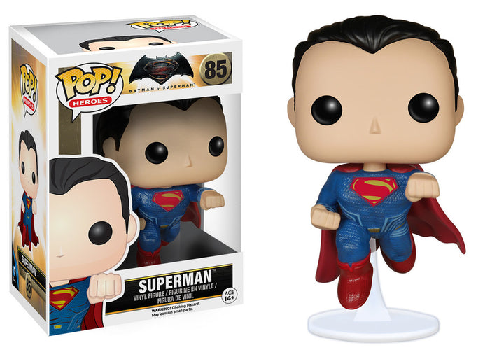 POP! HEROES: BATMAN VS SUPERMAN - SUPERMAN