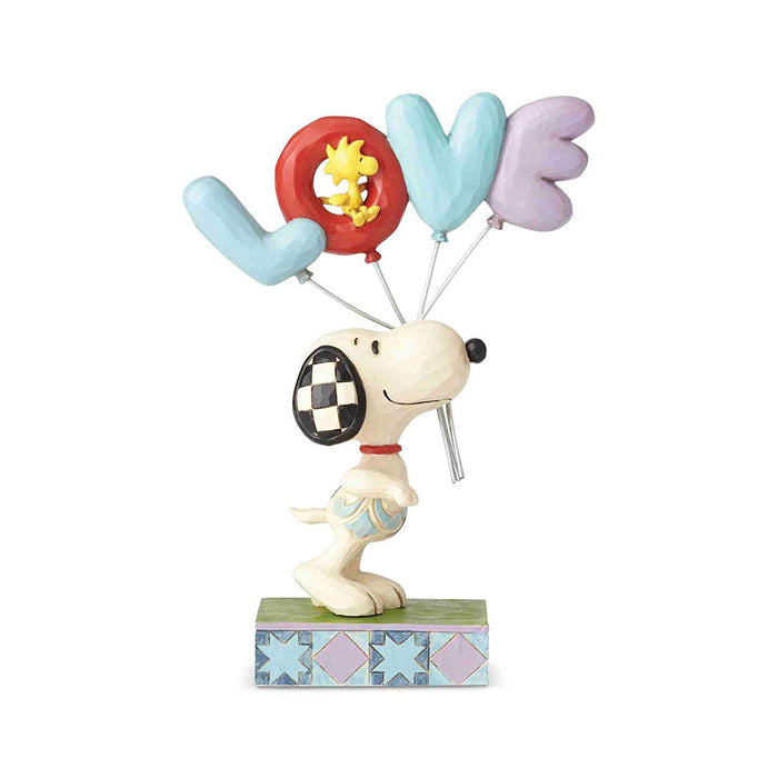 Enesco: Peanuts by Jim Shore - Snoopy with Love Balloon