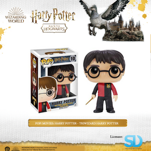 POP! Movies: Harry Potter - TriWizard Harry Potter - Sheldonet Toy Store