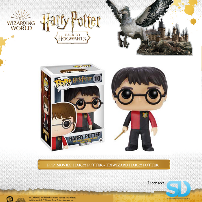 POP! Movies: Harry Potter - TriWizard Harry Potter
