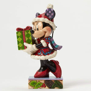 Enesco : Disney Traditions - Christmas Minnie - Sheldonet Toy Store