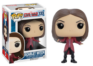 POP! MARVEL: CAPTAIN AMERICA 3 - SCARLET WITCH - Sheldonet Toy Store