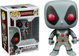 POP! Marvel: Deadpool - Deadpool Grey Suit (Convention Exclusive) - Sheldonet Toy Store
