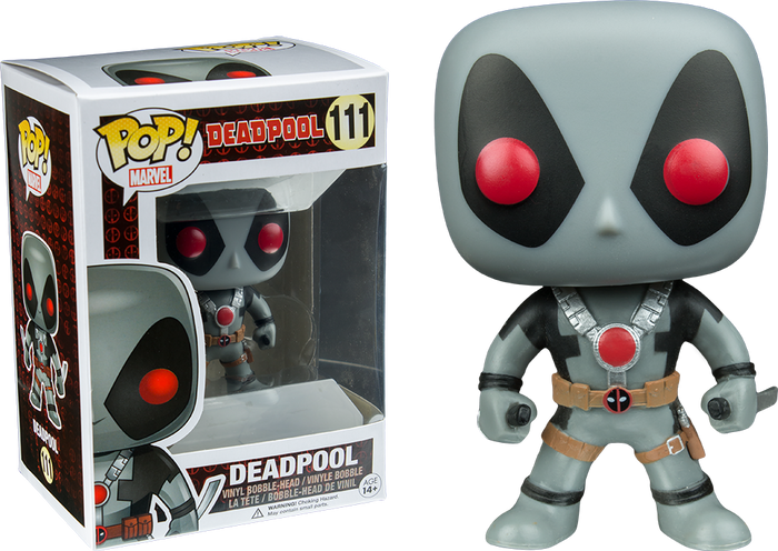 POP! Marvel: Deadpool - Deadpool Grey Suit (Convention Exclusive)