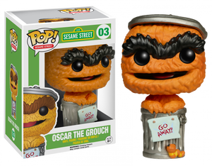 POP! TV : Sesame Street - OSCAR THE CROUCH (Exclusive) - Sheldonet Toy Store