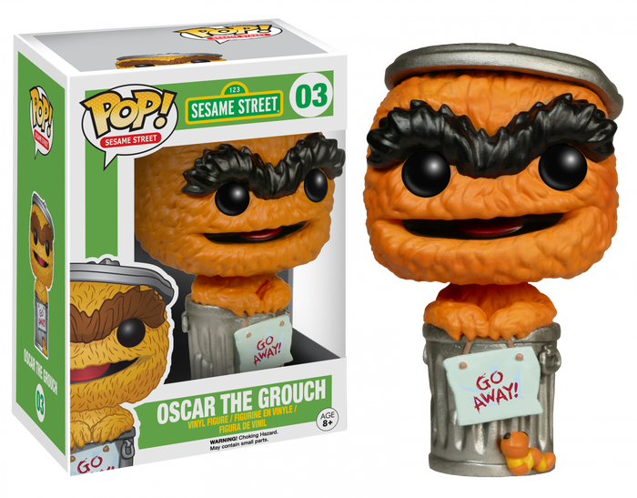 POP! TV : Sesame Street - OSCAR THE CROUCH (Exclusive)
