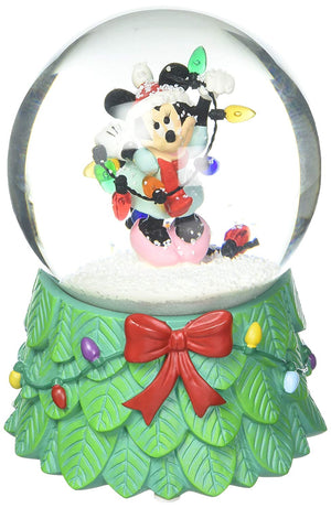 Department 56 : Disney Minnie with Lights Water Globe - Sheldonet Toy Store