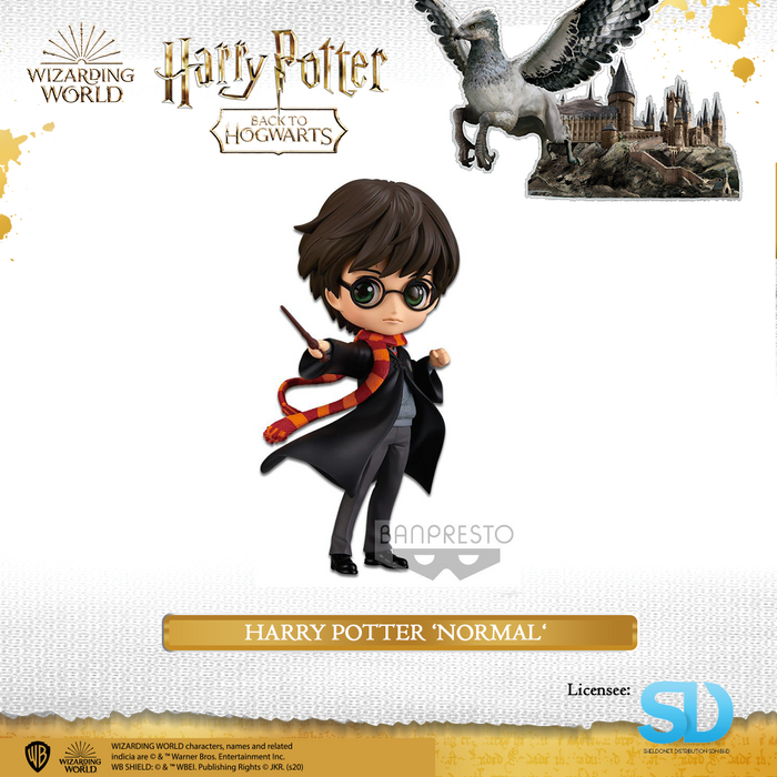Banpresto: Q Posket - Wizarding World - Harry Potter (Normal Colouring)
