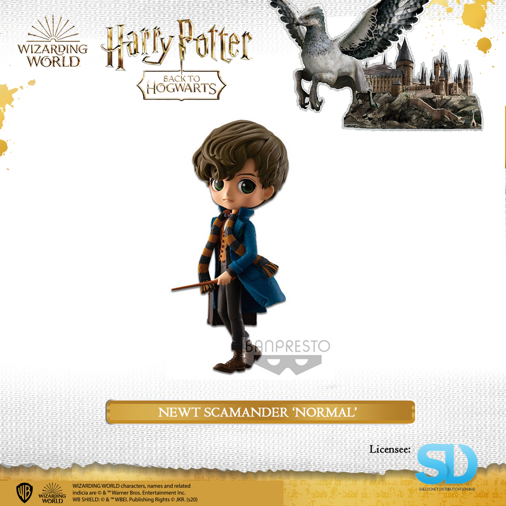 Banpresto: Q Posket - Fantastic Beasts - Newt Scamander (Normal Colouring) - Sheldonet Toy Store