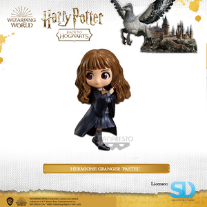 Banpresto: Q Posket - Wizarding World - Hermione Granger  (Pastel Colouring) - Sheldonet Toy Store