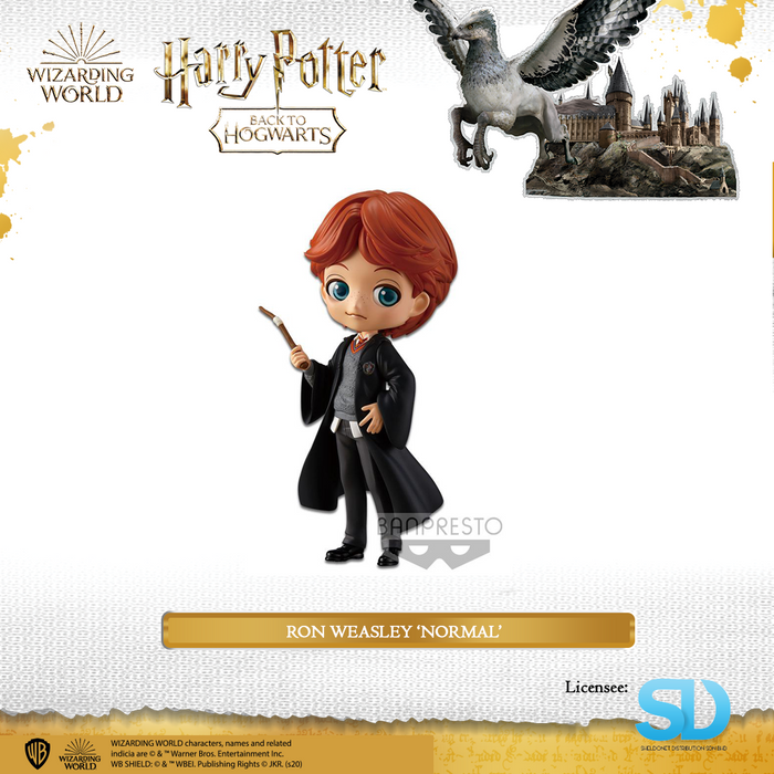 Banpresto: Q Posket - Wizarding World - Ron Weasley  (Normal Colouring)