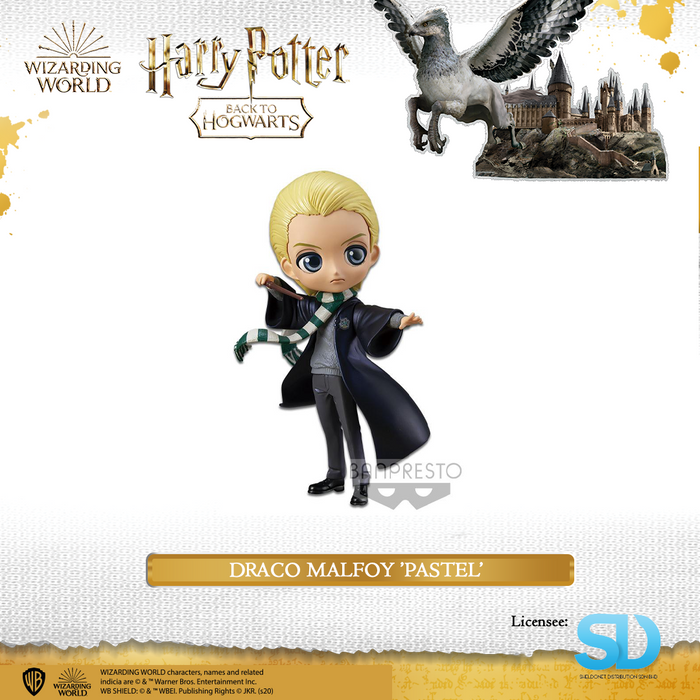 Banpresto: Q Posket - Wizarding World - Draco Malfoy  (Pastel Colouring)