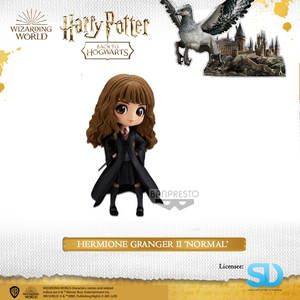 Banpresto: Q Posket - Wizarding World - Hermione Granger II  (Normal Colouring) - Sheldonet Toy Store