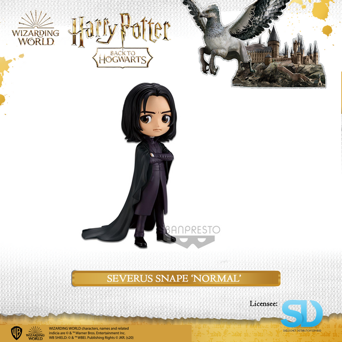 Banpresto: Q Posket - Wizarding World - Severus Snape   (Normal Colouring)