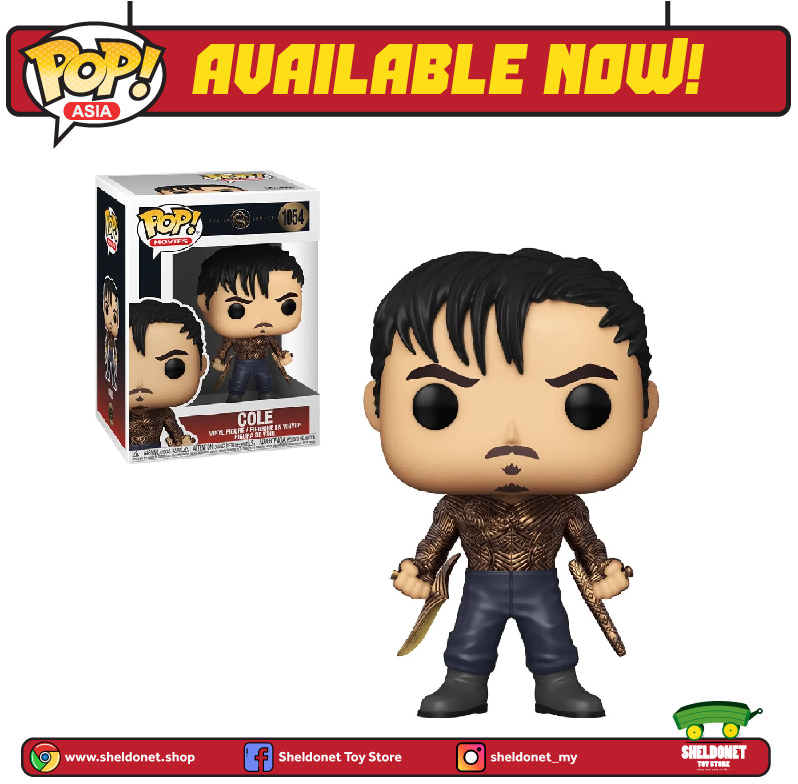 Pop! Movies: Mortal Kombat (2021) - Cole - Sheldonet Toy Store