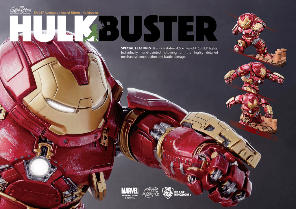 Egg Attack EA-017 Avengers: Age of Ultron- HULKBUSTER - Sheldonet Toy Store