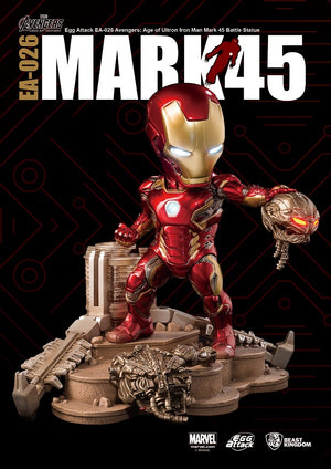 Avengers: Age of Ultron - Iron Man Mark 45 Battle Statue EA-026 - Sheldonet Toy Store