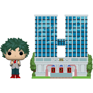 Pop! Towns: My Hero Academia - Deku with UA High School - Sheldonet Toy Store