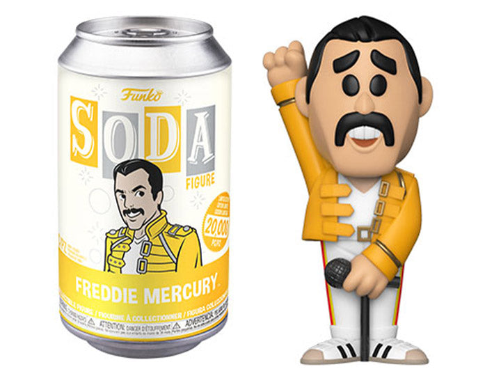 Vinyl Soda : Queen - Freddie Mercury - Sheldonet Toy Store