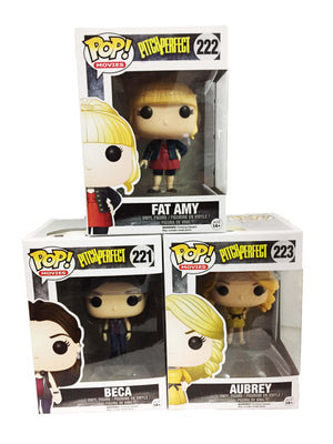 POP! Movies: Pitch Perfect - Fat Amy, Beca & Audrey (Set of 3) - Sheldonet Toy Store