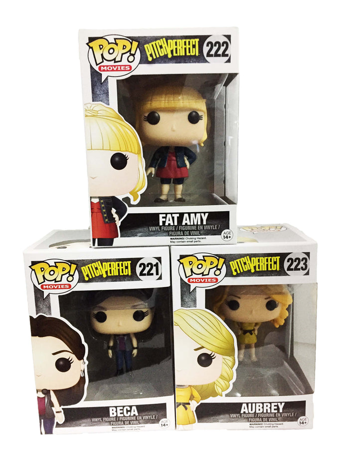POP! Movies: Pitch Perfect - Fat Amy, Beca & Audrey (Set of 3)